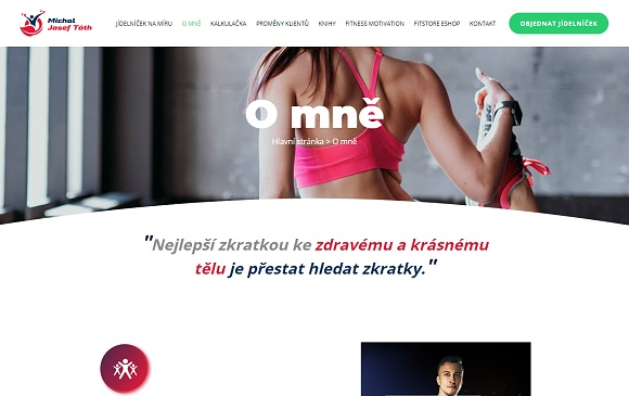 Web michaljoseftoth.cz
