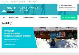Web skialp-praded.cz